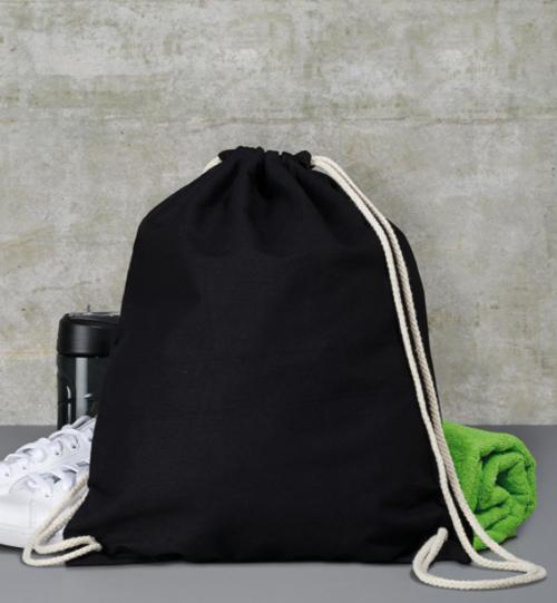 Medvilninis su raišteliais maišiukas 602.57 Backpack