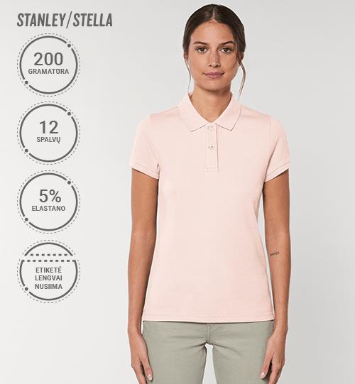 Polo marškinėliai Stanley/Stella Lietuva Devoter STPW 034 Women