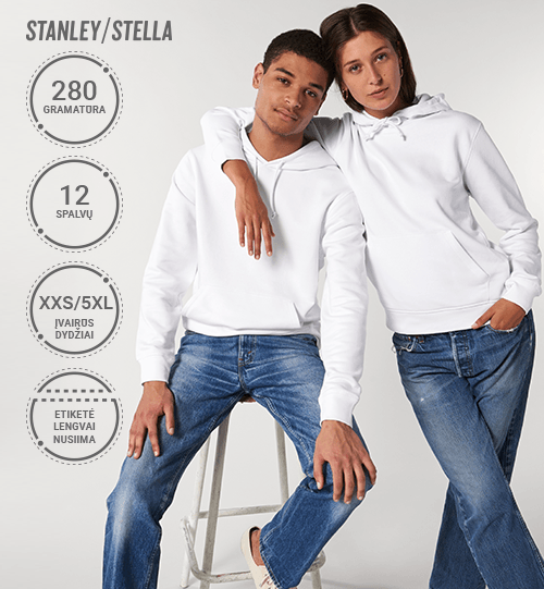 Džemperis Stanley/Stella Lietuva Drummer STSU 812 Unisex