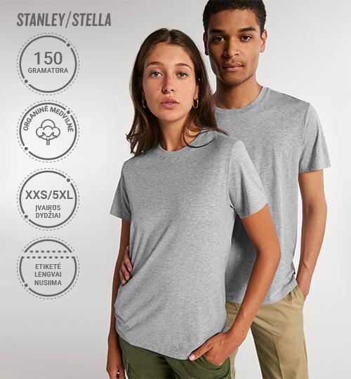 Marškinėliai Stanley/Stella Rocker STTU 758 Unisex
