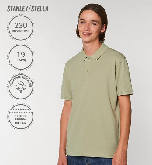 Polo marškinėliai Stanley/Stella Lietuva Stanley Dedicator STPM 563 Men