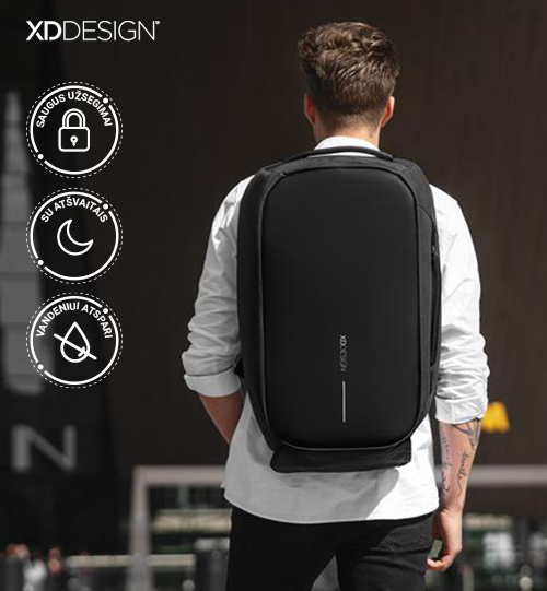 XD DESIGN® Bobby Duffle anti-theft travel bag kelioninė kuprinė