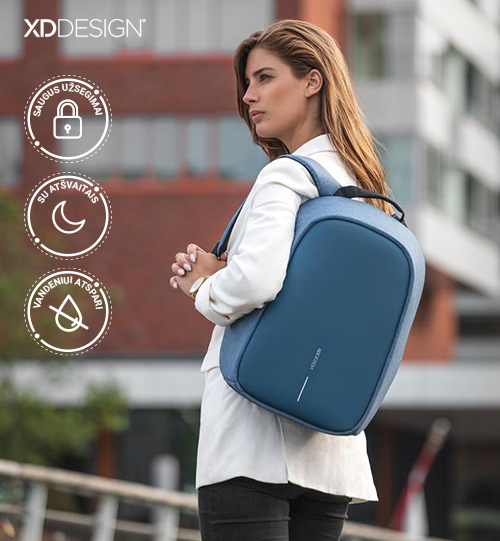 XD DESIGN® Bobby Hero Small, Anti-theft backpack kuprinė