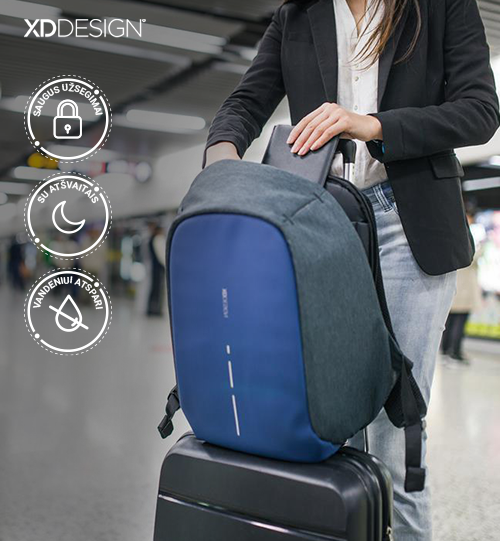 XD DESIGN® Bobby Compact anti-theft backpack kuprinė