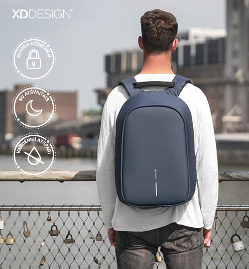 XD DESIGN® Bobby Hero XL, Anti-theft backpack kuprinė