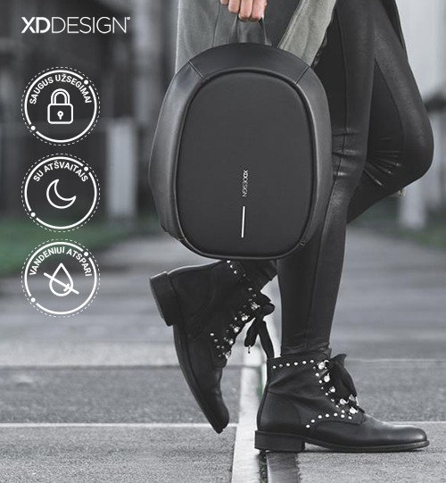 XD DESIGN® Elle Fashion, Anti-theft backpack kuprinė