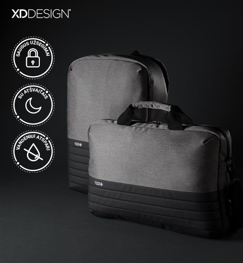 XD DESIGN® Order Swiss Peak RFID anti-theft 15.6″ laptop backpack kuprinė