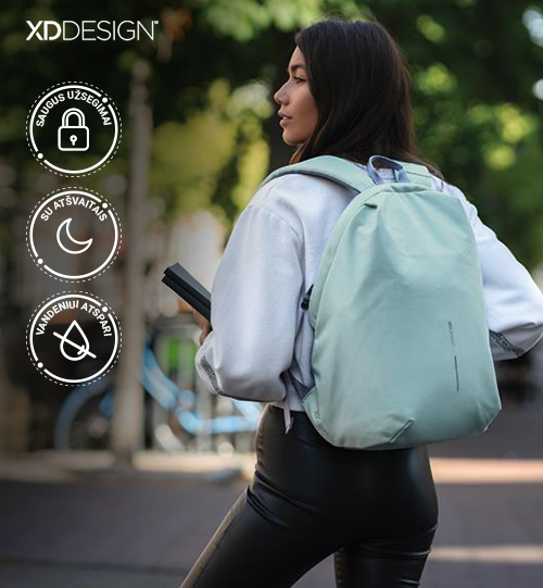 XD DESIGN® Bobby Soft, anti-theft backpack kuprinė