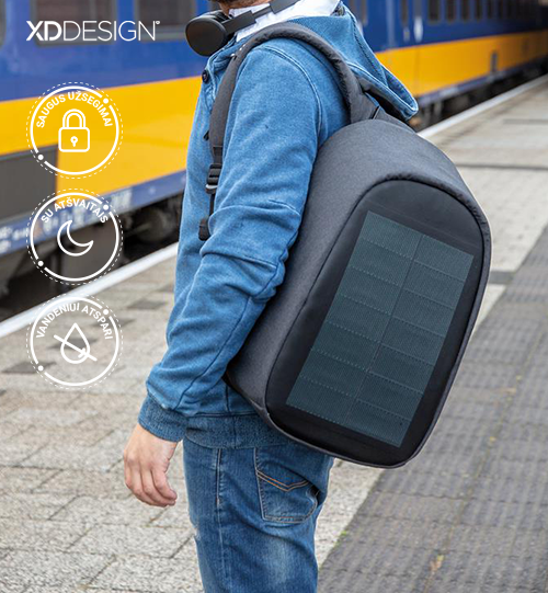 XD DESIGN® Bobby Tech anti-theft backpack kuprinė