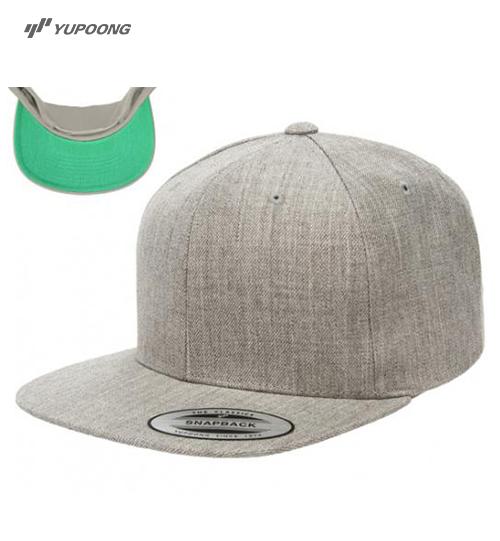 Kepurė su plokščiu snapeliu lexfit Yupoong Premium Flat Bill Snapback 6089M Unisex
