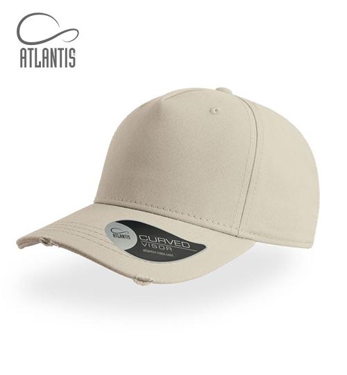 Vintažinio stiliaus kepurė su snapeliu Atlantis Cargo 33.8030 Unisex