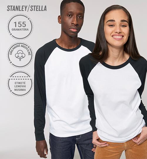 Marškinėliai Stanley/Stella Lietuva Catcher Long Sleeve  STTU 826 Unisex