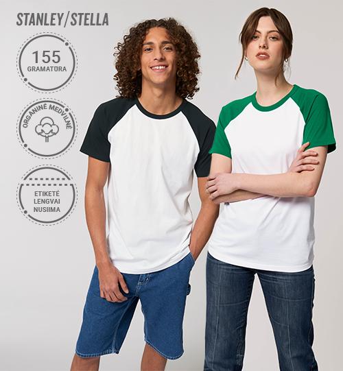 Marškinėliai Stanley/Stella Lietuva Catcher Short Sleeve STTU 825 Unisex