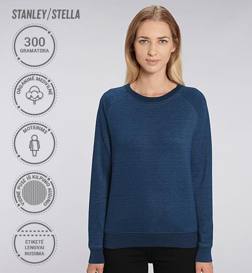 Moteriškas džemperis Stanley/Stella Lietuva Stella Tripster Denim STSW 147 Women