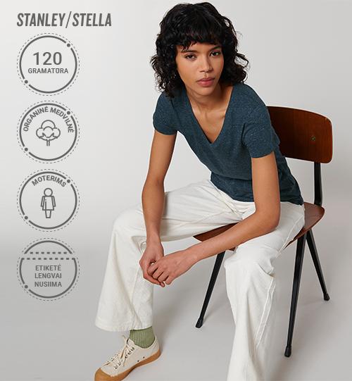 Moteriški marškinėliai Stanley/Stella Lietuva Stella Evoker STTW 023 Women