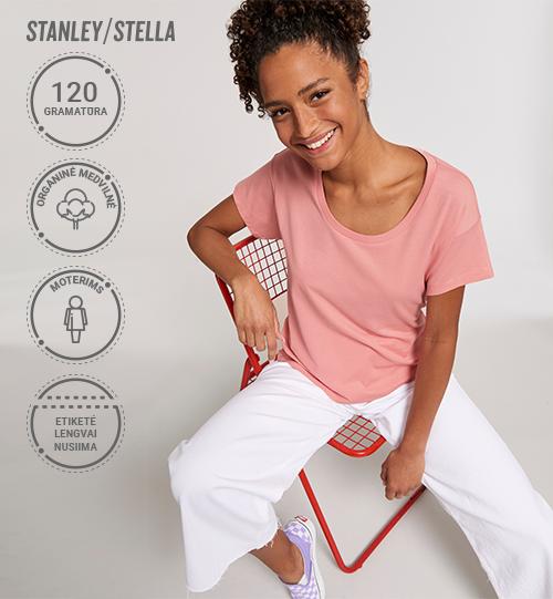 Moteriški marškinėliai Stanley/Stella Lietuva Stella Chiller STTW 036 Women