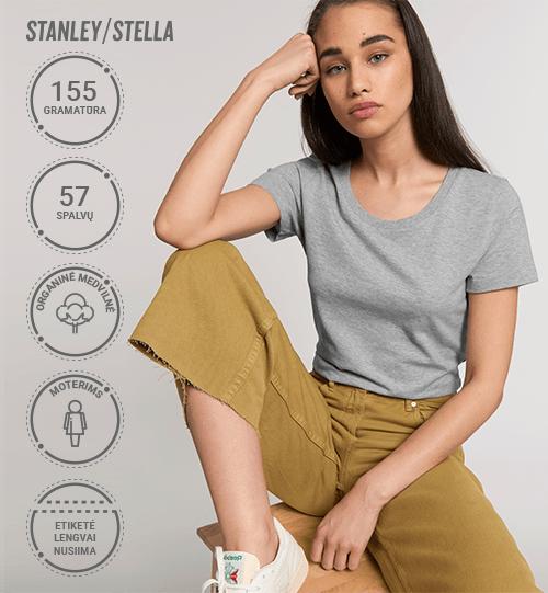 Moteriški marškinėliai Stanley/Stella Lietuva Expresser STTW 032 Women