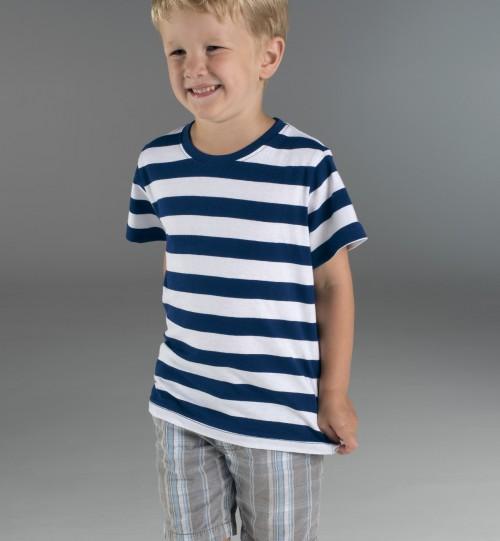 Dryžuoti marškinėliai PROMOSTARS SAILOR 21169