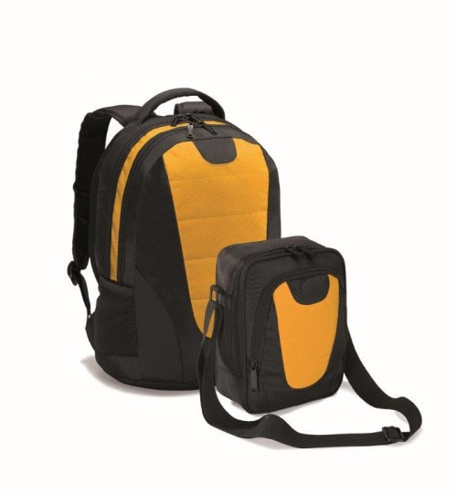 Kuprinės ir krepšio rinkinys BUSINESS BACKPACK COLORISSIMO LPN420