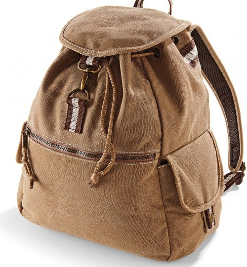 Kuprinė Vintage Canvas Backpack 662.30 QD612 QUADRA