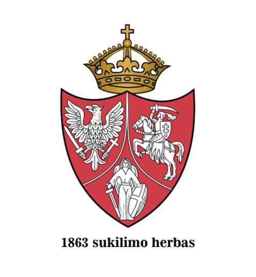 1863 sukilimo herbas