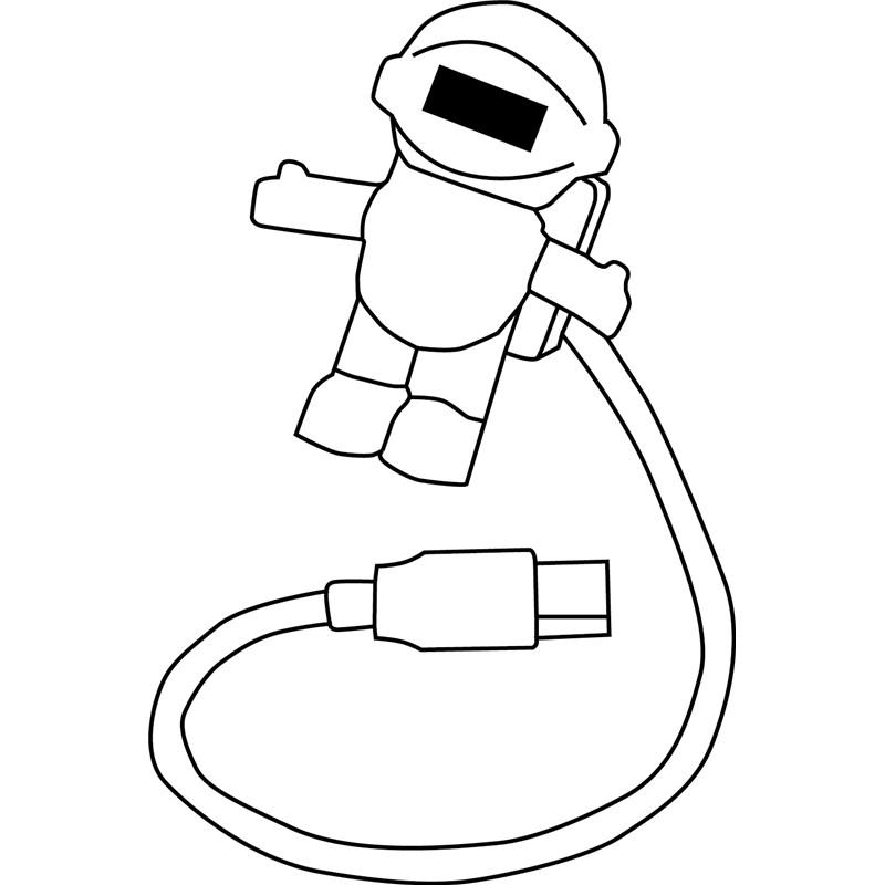 ledin u0117 mini usb lemput u0117  u0026quot astronaut u0026quot  58