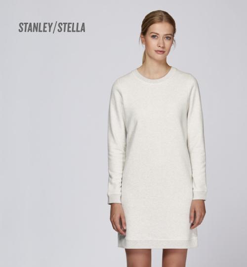Džemperis/suknelė Stanley Stella Stella Kicks STDW 139 vidinė pusė kilpinis audinys women