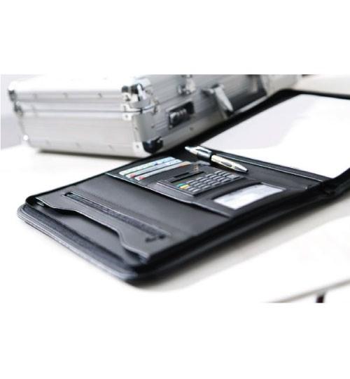 Dokumentų dėklas su kalkuliatoriumi A4 (Portfolio)