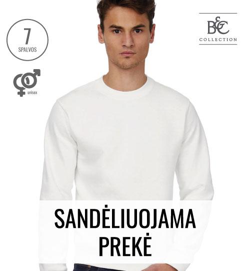 Džemperis ID.002 Cotton Rich Sweatshirt 215.42 WUI20 B&C
