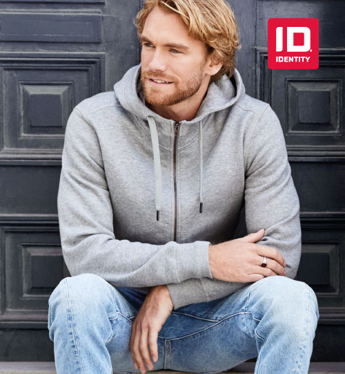 Džemperis Core full zip hoodie 0638 ID Identity men