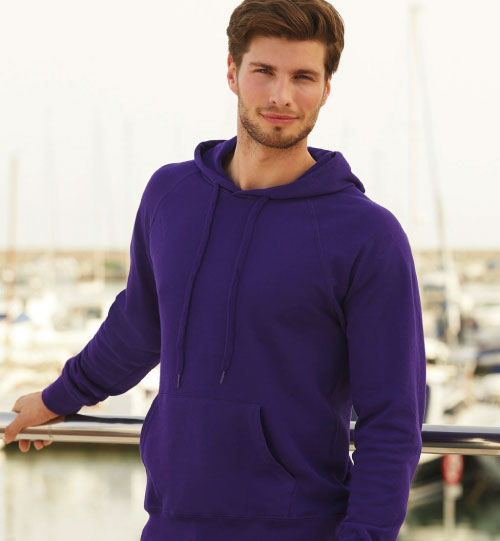 Džemperis Lightweight Hooded Sweat Fruit of the Loom 212.01 (62-140-0)