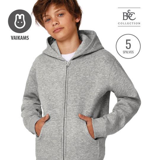 Džemperis  Hooded Full Zip/Kids 298.42 (WK682) B&C