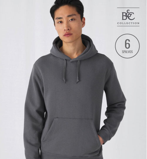 Džemperis Hooded Sweatshirt  276.42 WU620 B&C