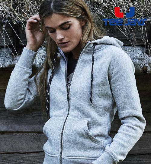 Džemperis Ladies Fashion Full Zip Hood 255.54 5436 Tee Jays
