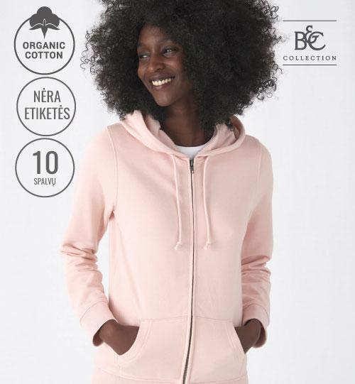 Džemperis Organic Zipped Hooded /women 233.42 WW36B B&C