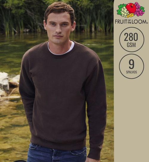 Džemperis Premium Set-In Sweat 215.01 62-154-0 Fruit Of The Loom men