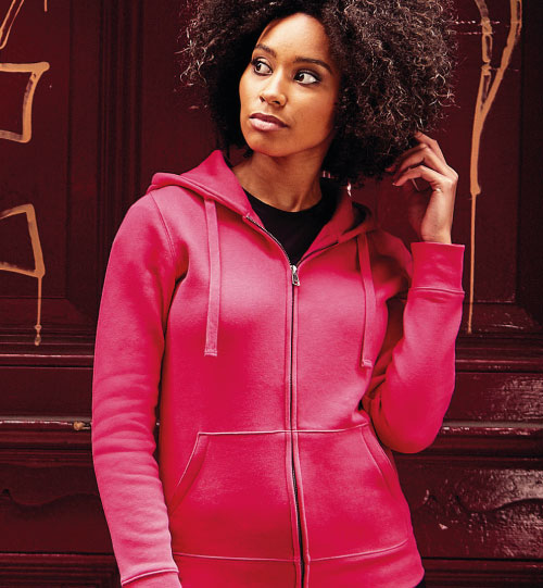 Džemperis Ladies' Authentic Zipped Hood 283.00 R-266F-0 RUSSELL