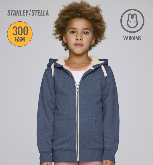 SS Džemperis Stanley Stella Mini Voyages Sherpa STSK903 kids