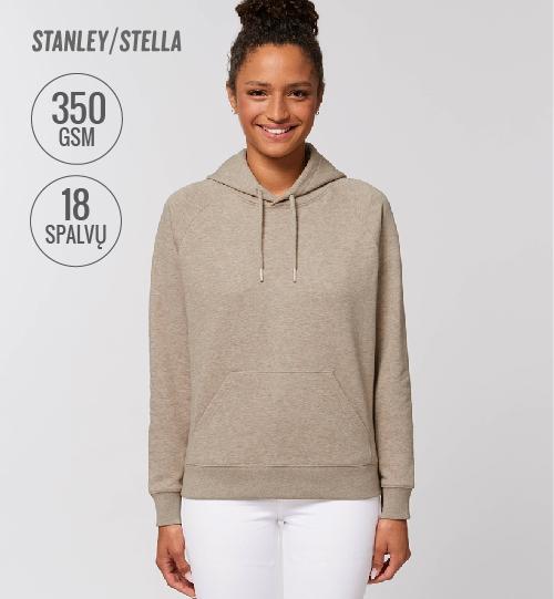 Džemperis Stanley Stella TRIGGER STSW 148 vidinė pusė kilpinis audinys women