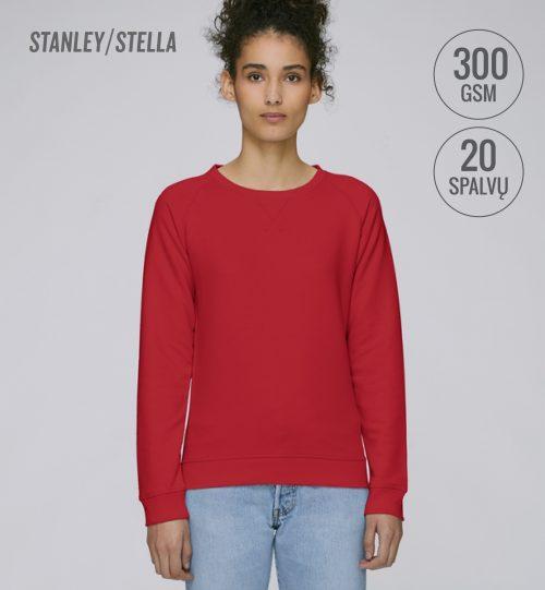 Džemperis Stanley Stella Tripster STSW 146 vidinė pusė kilpinis audinys women