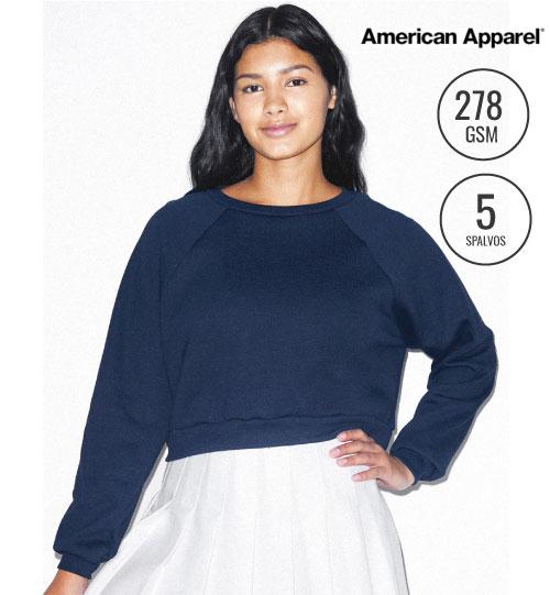 Džemperis Women's Fleece Crop Pullover 211.07 RSAF3451W American Apparel women