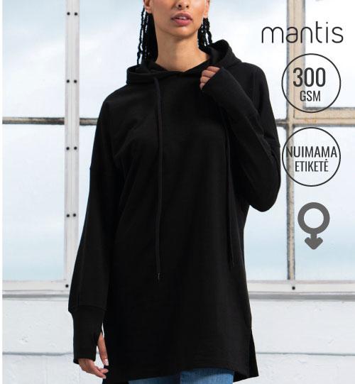 Džemperis-suknelė Women's Hoodie Dress 209.48 M142 MANTIS