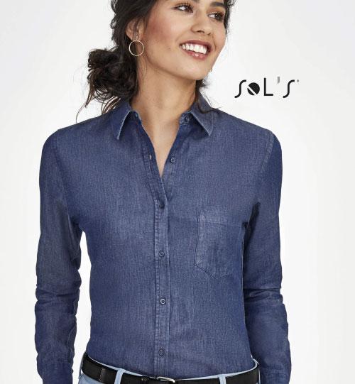 Džinsiniai marškiniai Barry Women 02101 SOLS