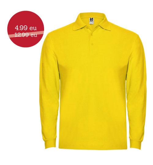 IŠPARDAVIMAS Polo marškinėliai Estrella man L/S 6635 ROLY
