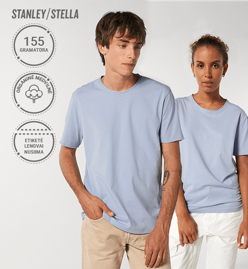 Marškinėliai Stanley/Stella Imaginer STTU 647 Unisex