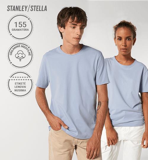 Marškinėliai Stanley/Stella Lietuva Imaginer STTU 647 Unisex