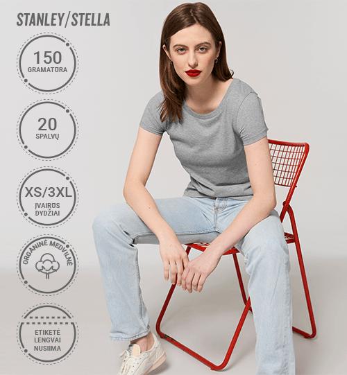 Marškinėliai Stanley/Stella Jazzer STTW 039 Women
