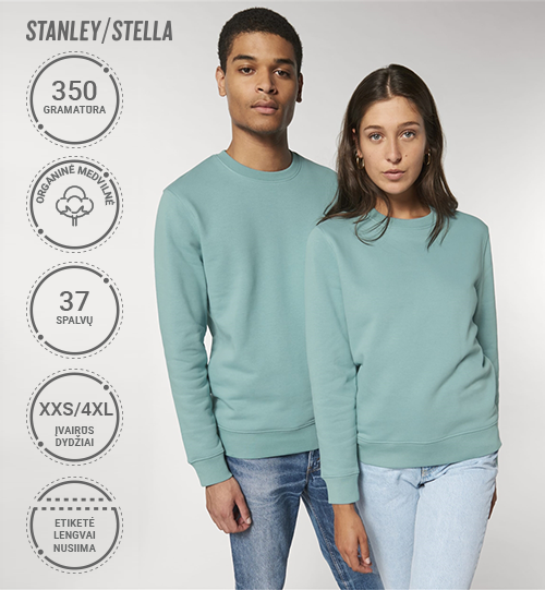 Džemperis Stanley/Stella Lietuva Changer STSU 823 Unisex