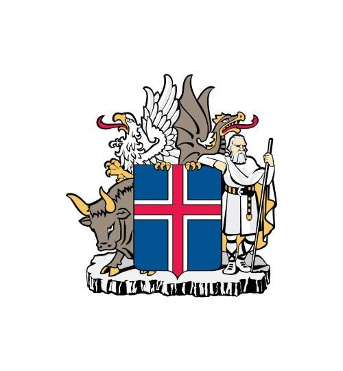 Islandijos herbas