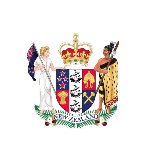 Naujosios Zelandijos herbas